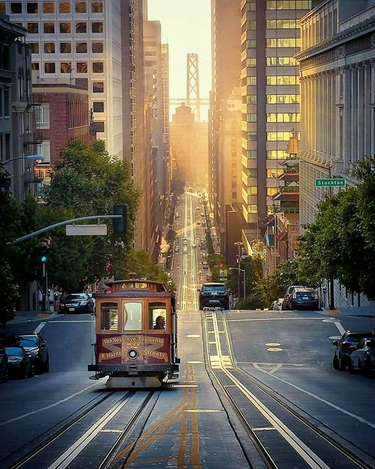 Frisco cable car